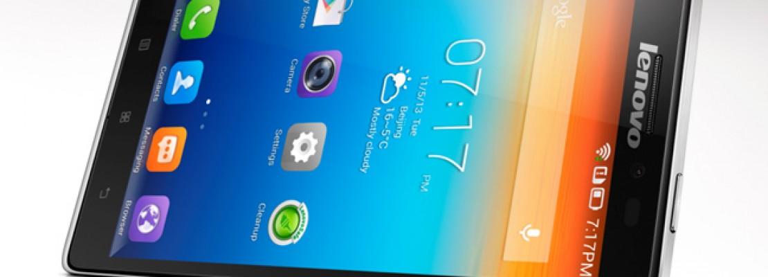 Το πρώτο LTE Smartphone από τη Lenovo