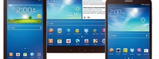 Samsung: 3 νέα Galaxy Tab 4 στο MWC