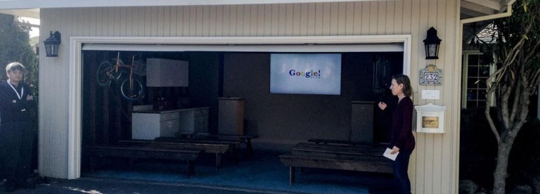 Σε αυτό το γκαράζ γεννήθηκε η Google. Στην Ελλάδα θα ήταν παράνομο.