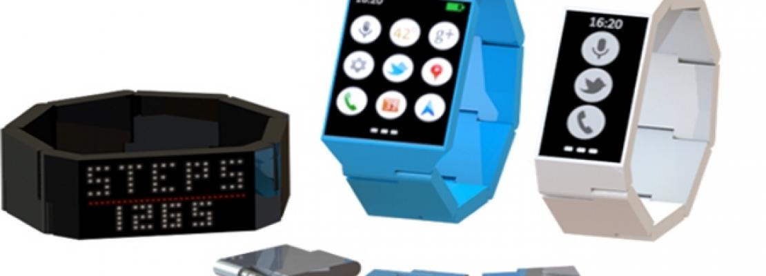 Blocks: Το έξυπνο κινητό που φοριέται στο χέρι σαν ρολόι