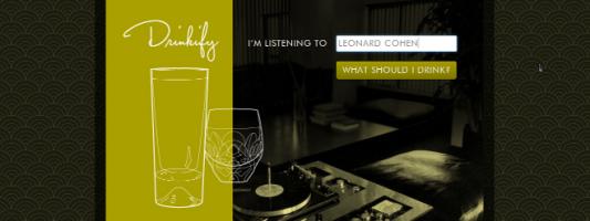 Drinkify: Ιστοσελίδα διαλέγει το κατάλληλο ποτό για να συνοδεύσει τη μουσική που ακούτε