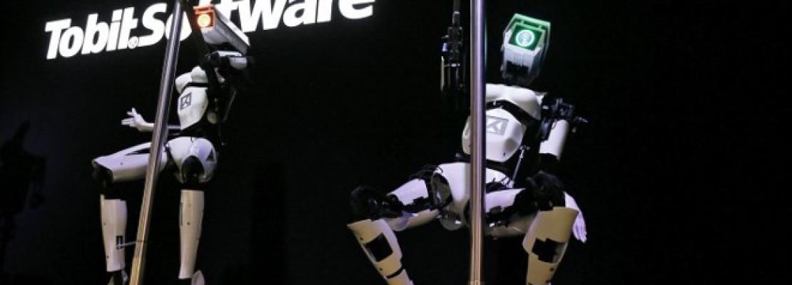Παράνοια: Σύγχρονα ρομπότ κάνουν pole dancing και προσφέρονται για «θέαμα» στο χώρο σας ή αλλού
