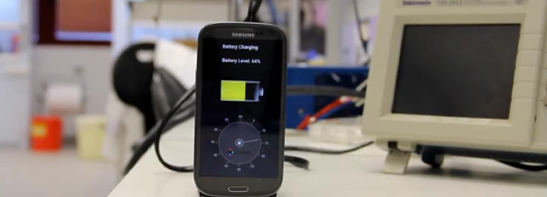 Συσκευή φορτίζει το κινητό μέσα σε μόλις 30 δευτερόλεπτα (VIDEO)