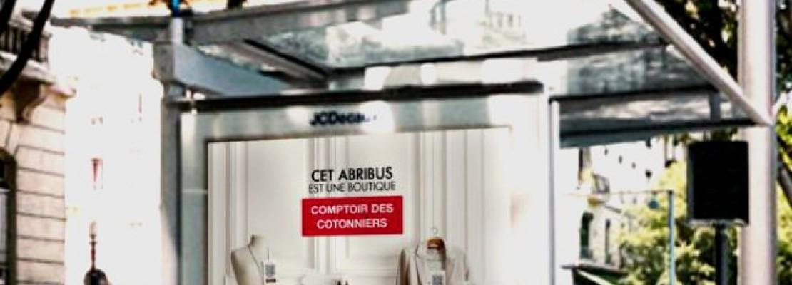 Θα αγοράζουμε ρούχα από στάσεις λεωφορείων!
