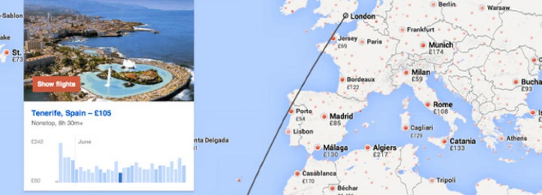 H Google σας πάει ταξίδια… στη τύχη: Σας προτείνει πτήσεις σε όλο τον κόσμο [βίντεο]