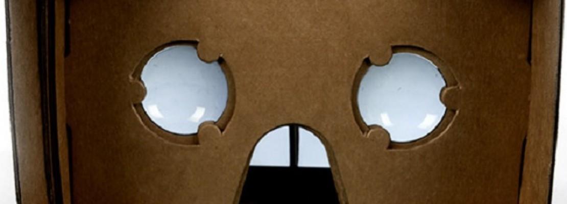 Η Google παρουσίασε το Cardboard, και η εικονική πραγματικότητα έγινε… mainstream