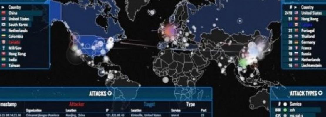 Δείτε σε πραγματικό χρόνο όλες τις επιθέσεις που γίνονται στο διαδίκτυο!