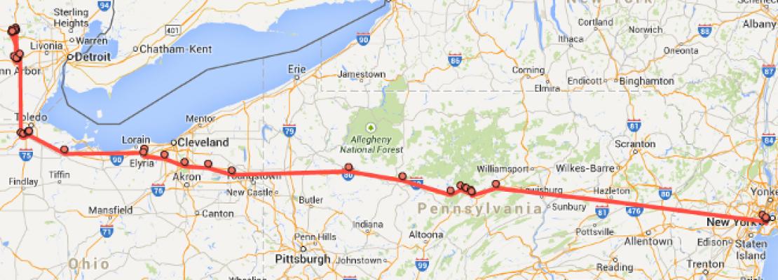 Google -Ο Μεγάλος Αδελφός: Ενα απλό τρικ για να δείτε όλα τα μέρη από όπου έχετε περάσει