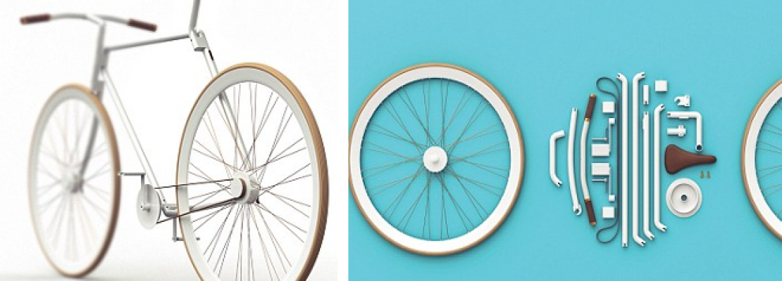Kit Bike: Το απόλυτο μεταφορικό μέσο-ποδήλατο που διπλώνει και μπαίνει σε μία τσάντα ώμου [εικόνες]
