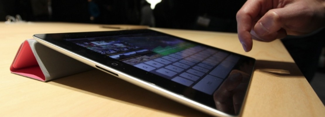 Έχεται iPad με 12,9 ίντσες οθόνη με Α8Χ τσιπ!