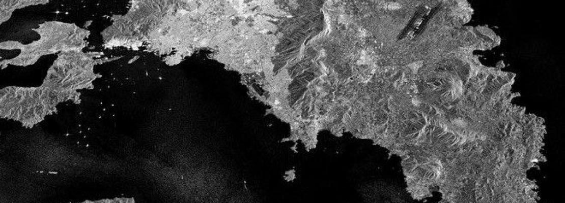 H Αθήνα από ψηλά: Πώς φαίνεται το λεκανοπέδιο από το διάστημα (VIDEO)