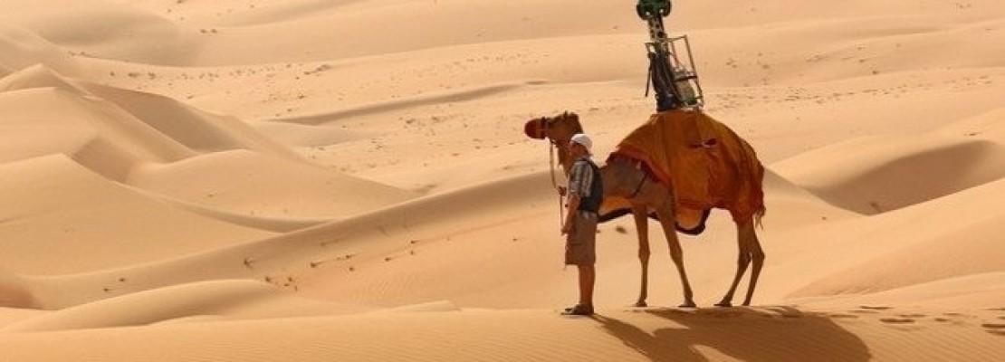 Η Google βρίσκει πάντα λύση: Χαρτογράφησε ακόμη και την έρημο