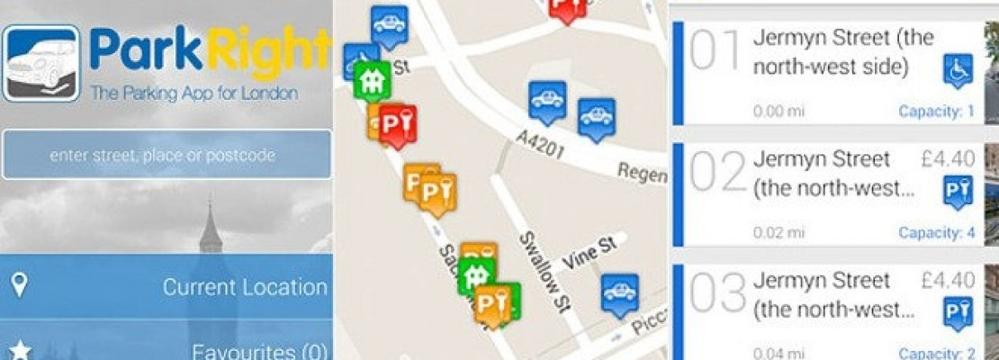 ParkRight: Εφαρμογή για εύκολο παρκάρισμα