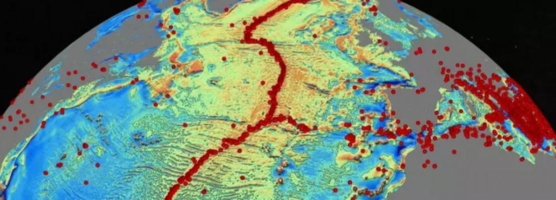 Βουνά στο βυθό της θάλασσας: Νέος δορυφορικός χάρτης αποκαλύπτει υποβρύχιες οροσειρές