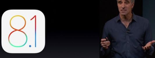 Τα νέα χαρακτηριστικά που φέρνει το iOS 8.1