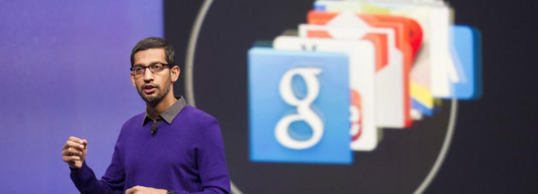 Ο Sundar Pichai αναλαμβάνει περισσότερες αρμοδιότητες στη Google