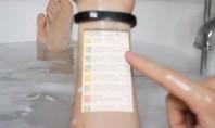 Εξυπνο βραχιόλι μετατρέπει το χέρι σας σε touch screen