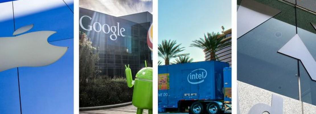 415 εκ. δολάρια θα καταβάλλουν οι Apple, Google, Intel και Adobe για εξωδικαστικό συμβιβασμό