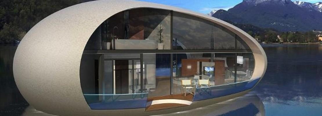 Το σπίτι αβγό – Μια πλωτή βίλα με υποβρύχιο δωμάτιο