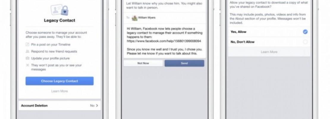 Τι θα γίνει με τον λογαριασμό μου όταν πεθάνω; Το Facebook δίνει λύση με ηλεκτρονική διαθήκη