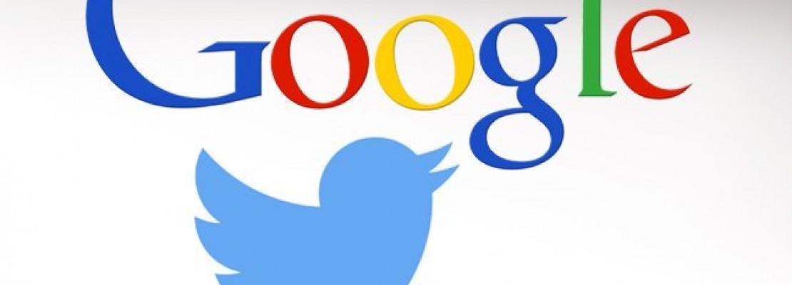 Συμφωνία με τη Google έκλεισε το Twitter