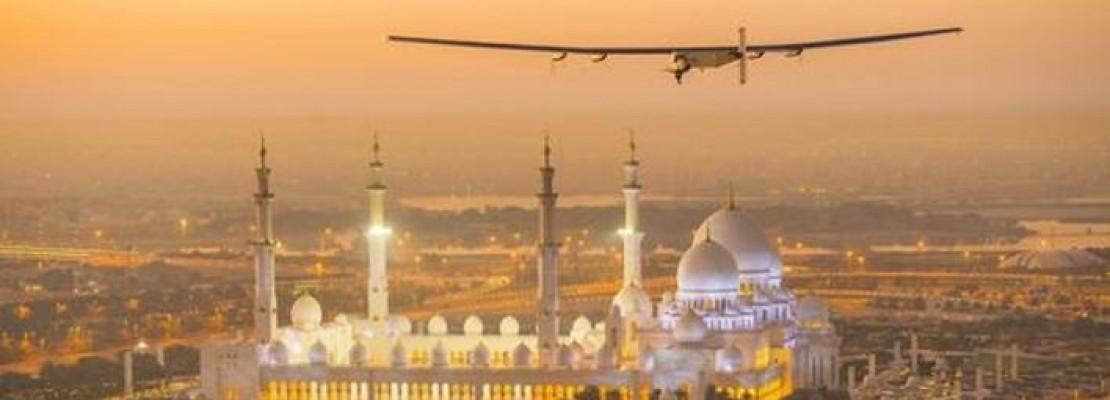 Ο γύρος του κόσμου χωρίς καύσιμα: Το Solar Impulse-2 απογειώθηκε από το Αμπού Ντάμπι