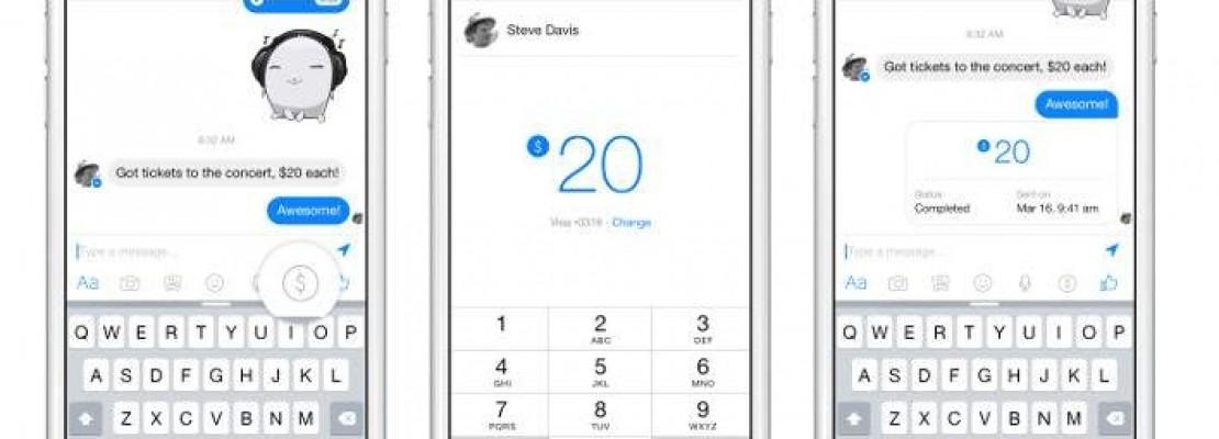 Ετσι θα γίνονται οι πληρωμές μέσω του Facebook Messenger