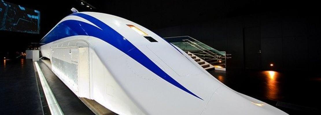 Το τρένο που πάει με 603 χλμ στον… αέρα