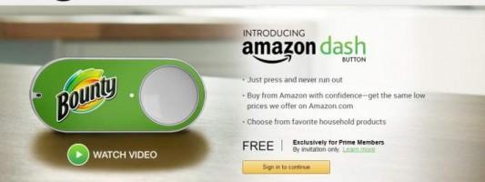 Επανάσταση από την Amazon – Παραγγελίες προϊόντων με το πάτημα ενός κουμπιού