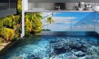 Κοράλλια και καρχαρίες – Η 3D τεχνολογία μετατρέπει τα πατώματα σε απέραντους ωκεανούς