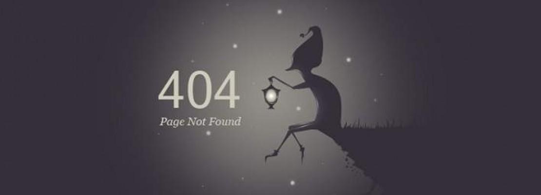 Οι 19 ιστοσελίδες με τα πιο εμπνευσμένα… «Page not found» (ΦΩΤΟΓΡΑΦΙΕΣ)