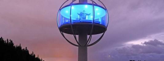 Skysphere: Το διαστημικό σπίτι που κόβει την ανάσα – Θέα 360 μοιρών και λειτουργίες με smartphone
