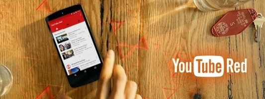 YouTube Red με χρέωση $9.99 για ένα YouTube χωρίς διαφημίσεις και με τοπική αποθήκευση βίντεο