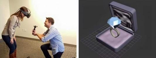 Η πιο high tech πρόταση γάμου όλων των εποχών (photos)