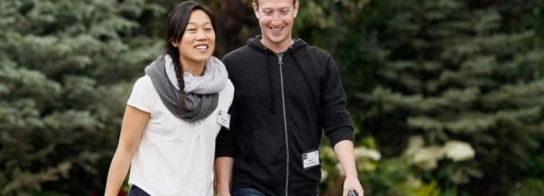 Το ζεύγος Ζούκερμπεργκ χαρίζει το 99% των μετοχών του στο Facebook στο… ίδρυμά του