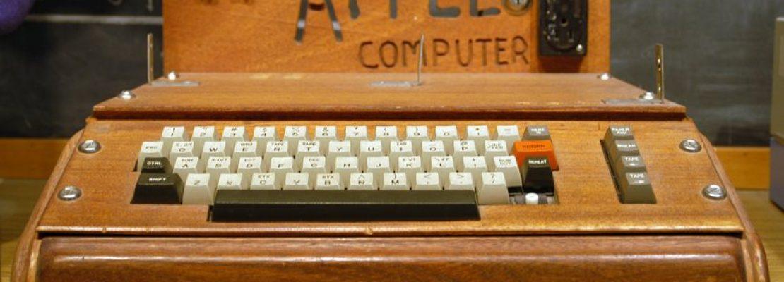 727.000 ευρώ πουλήθηκε ένας από τους πρώτους υπολογιστές της Apple