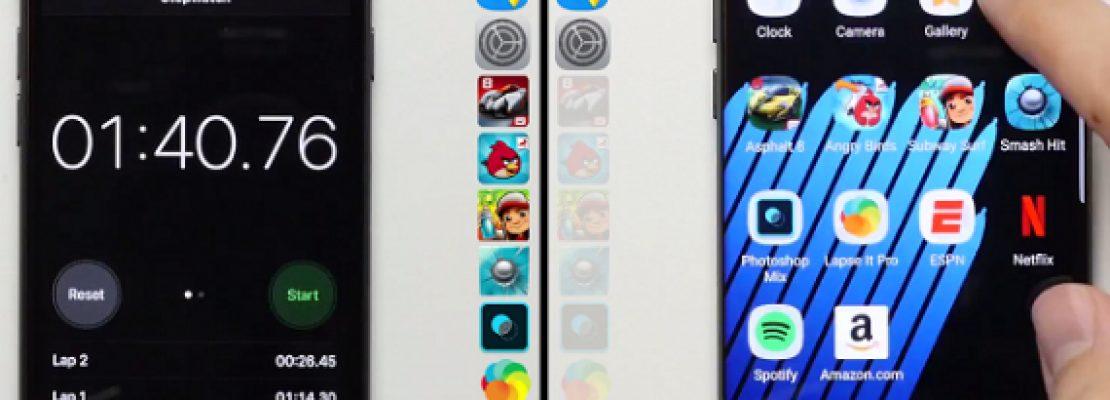 iPhone 7 vs Samsung Galaxy Note 7: Speed Test – Ποιο κερδίζει με διαφορά;