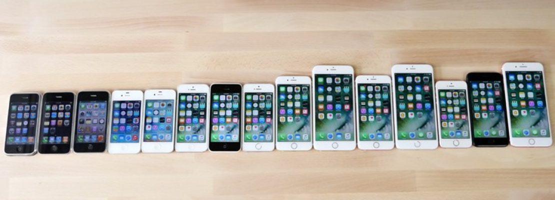 Σύγκριση όλων των iPhone σε ένα βίντεο