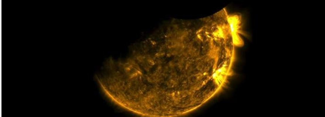 Μοναδικό: Η NASA κατέγραψε την εντυπωσιακή διπλή έκλειψη Hλίου