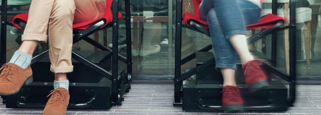 Αυτόνομες καρέκλες για να στέκεσαι στην ουρά
