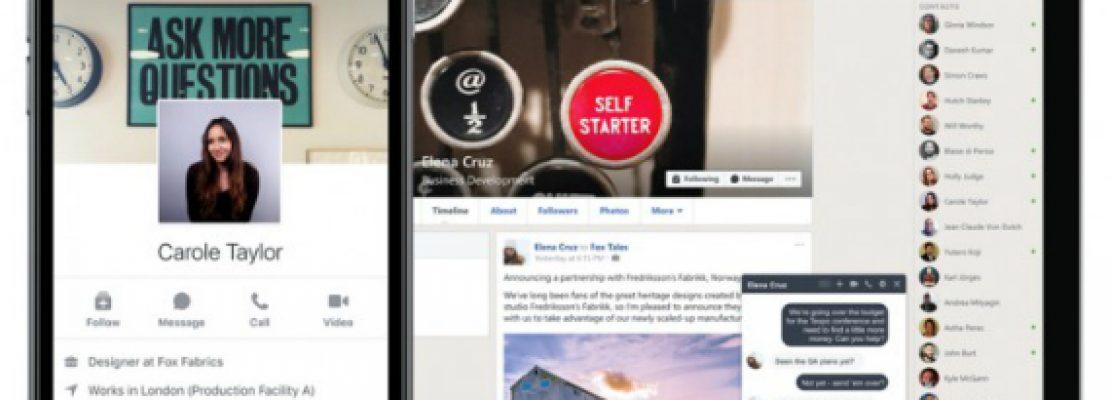 Facebook Workplace: Έγινε διαθέσιμο το επαγγελματικό Facebook