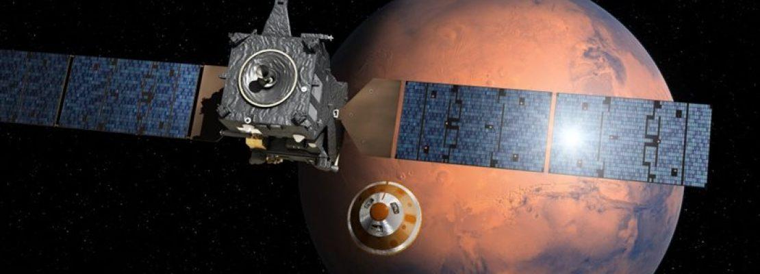Λαχτάρα με το διαστημικό σκάφος που βρίσκεται στον Άρη
