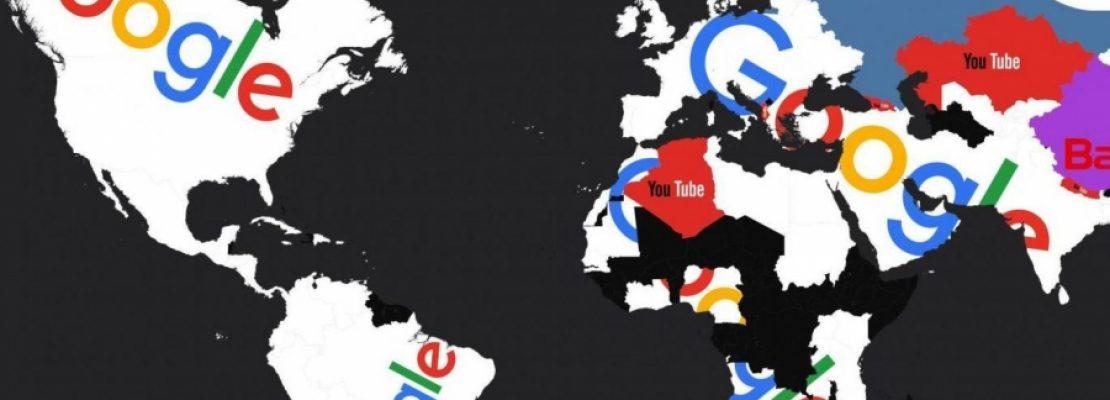 Οι πιο δημοφιλείς ιστοσελίδες στον κόσμο