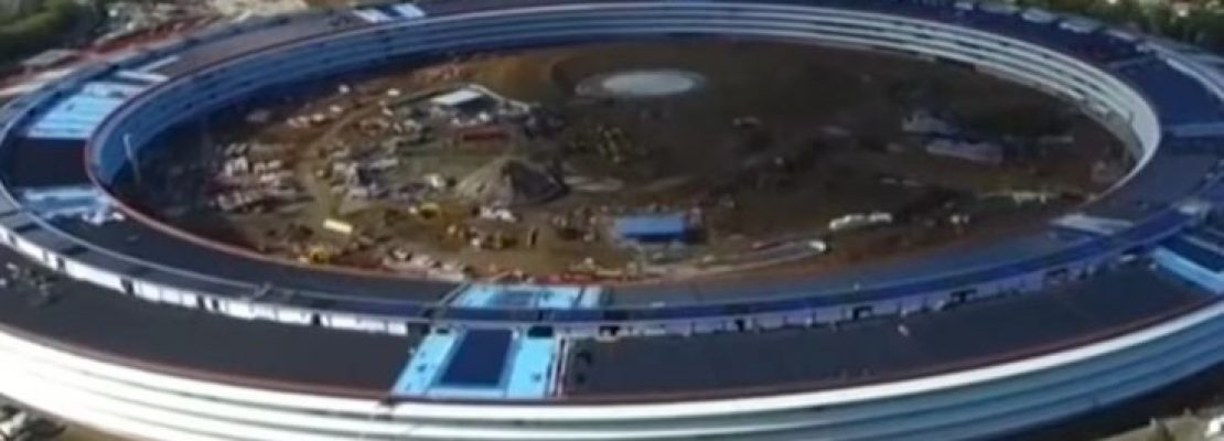 Το φουτουριστικό «διαστημόπλοιο» της Apple από ψηλά