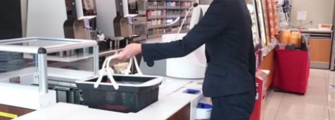 Panasonic: Τα αυτόματα ταμεία super market που βάζουν και τα ψώνια σου στις σακούλες
