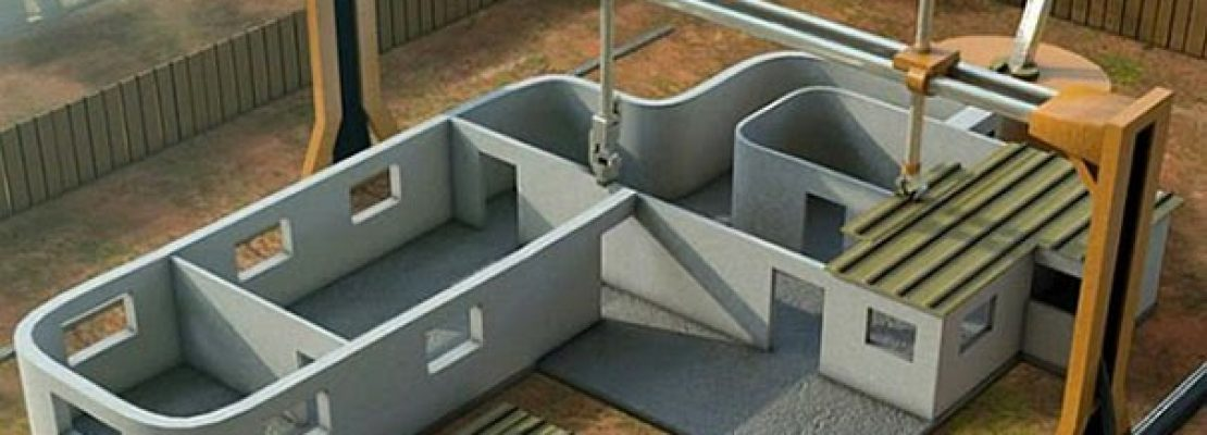 Θεόρατος 3D printer τυπώνει σπίτι σε μόλις 24 ώρες