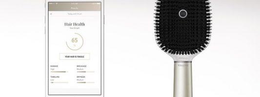 Η «έξυπνη» βούρτσα θέλει να φέρει την επανάσταση στη φροντίδα των μαλλιών