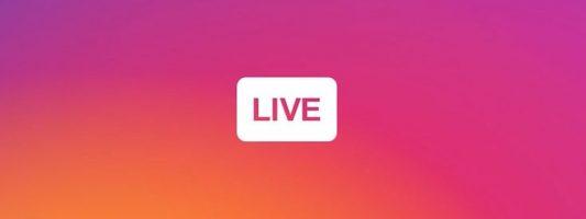 Μετάδοση βίντεο ζωντανής ροής μέσω… Instagram