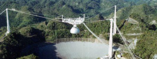 Αντιμέτωπο με λουκέτο το γνωστότερο γιγάντιο ραδιοτηλεσκόπιο Αρεσίμπο