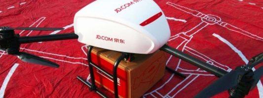 Η JD.com πρόλαβε την Amazon: Ξεκινά το πρώτο δίκτυο delivery με… drone